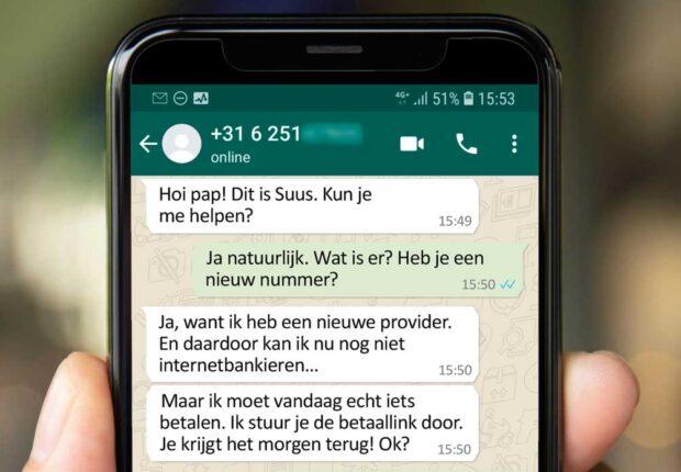 WhatsApp-oplichters