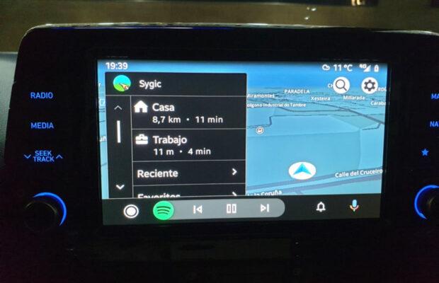Android Auto Sygic