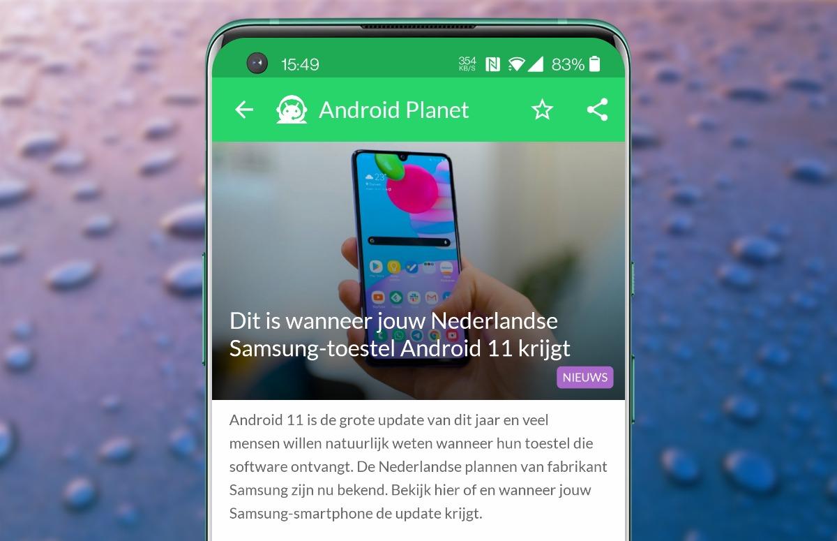 Android-nieuws #50: Android 11 voor Samsung en Disney Plus wordt duurder