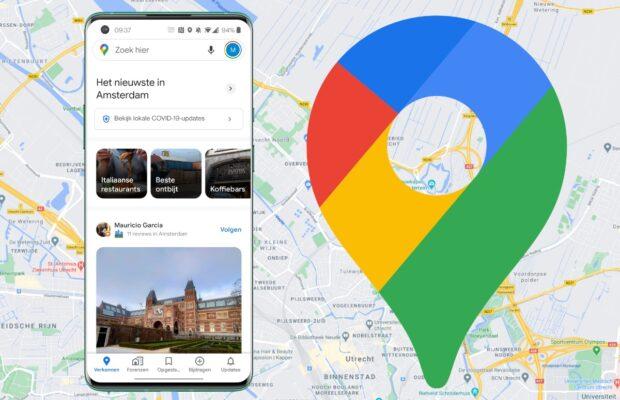 google maps update tijdlijn uitgelicht
