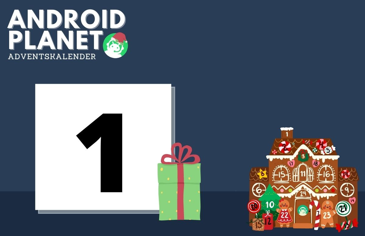 Android Planet-adventskalender (1 december 2020): win een Google Nest Audio!