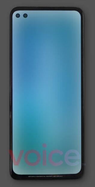 Motorola Moto G Nio render