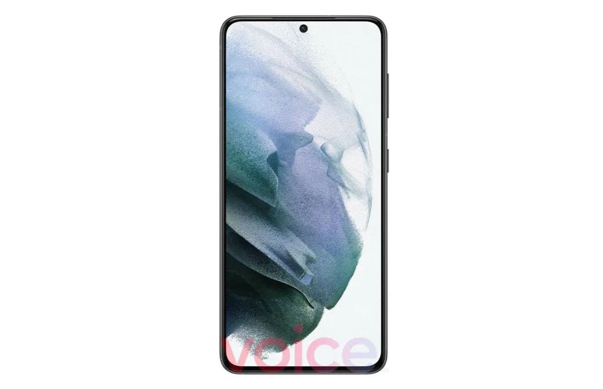 Eerste officiële foto Samsung Galaxy S21 laat relatief dikke schermranden zien