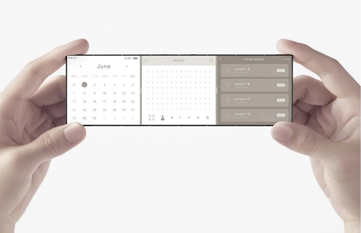 Oppo Slide Phone: concept toont blik in de toekomst van vouwbare smartphone