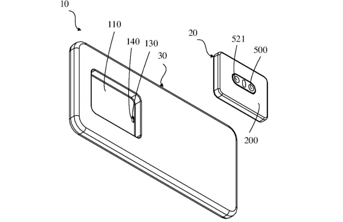 Oppo werkt aan verwijderbare camera voor smartphones