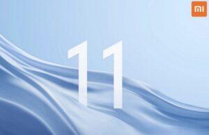 Xiaomi Mi 11-aankondiging