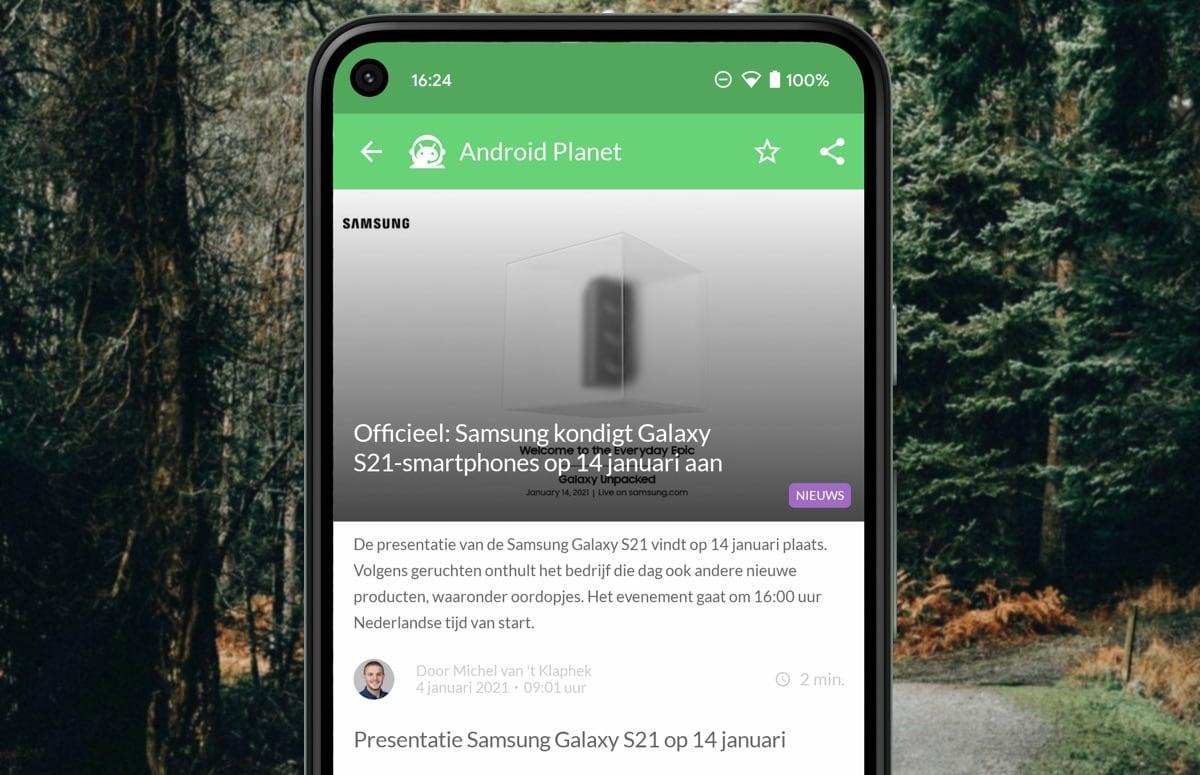 Android-nieuws #1 (2021): Samsung Galaxy S21-aankondiging en Nokia