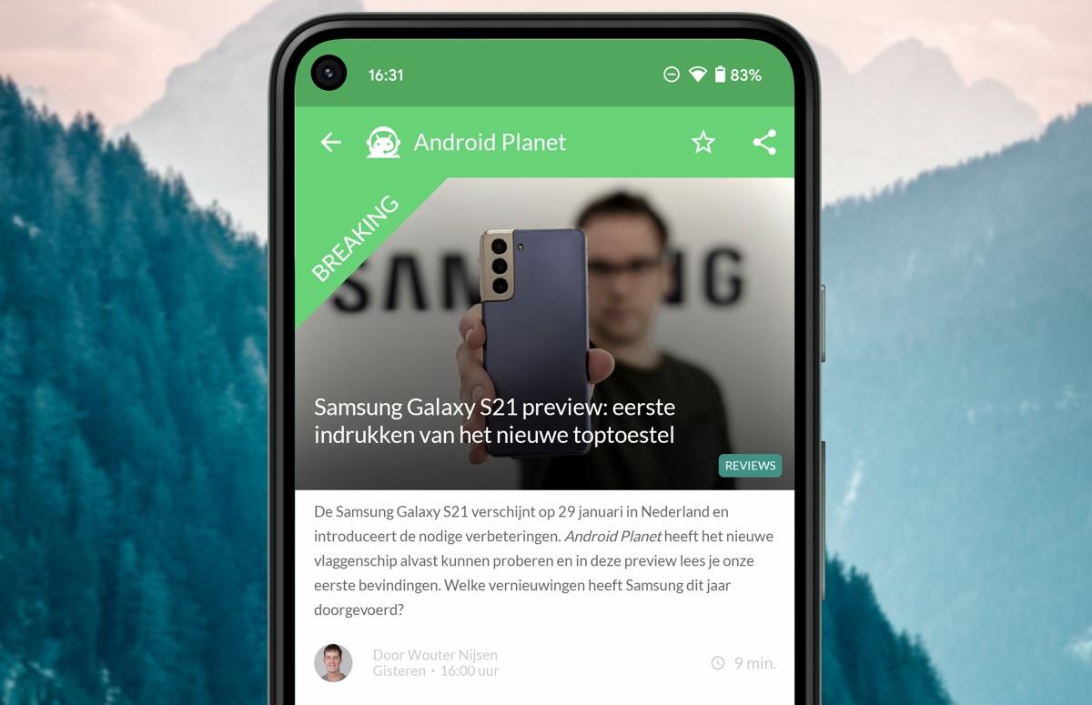 Android-nieuws #2 (2021): Samsung Galaxy S21 officieel, onze preview en meer