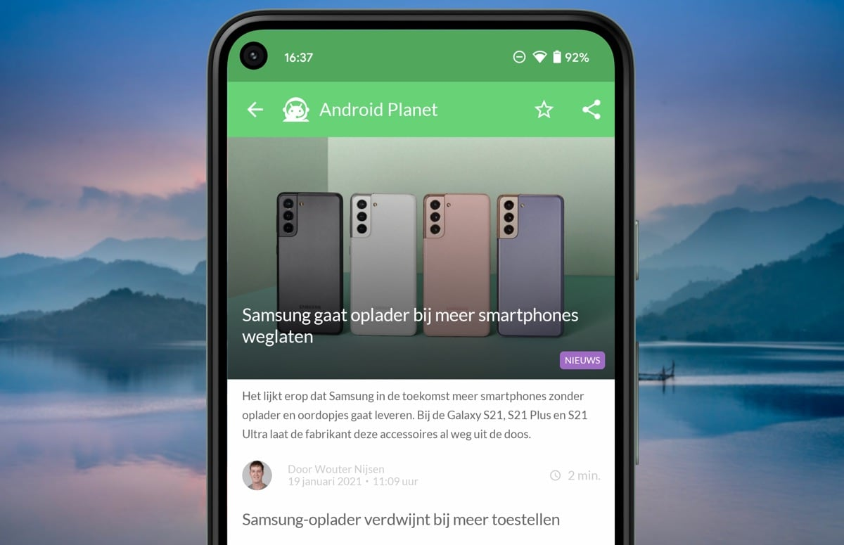 Android-nieuws #3 (2021): Samsung-opladers en Google Play Points