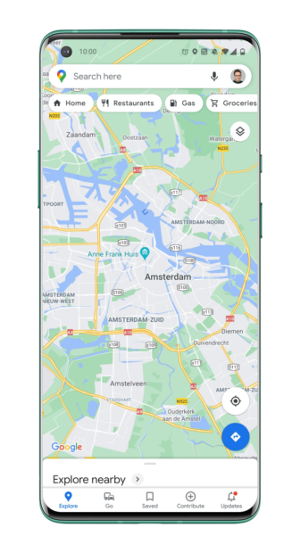 Google Maps-taal