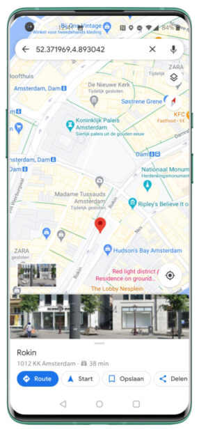 google maps splitscreen