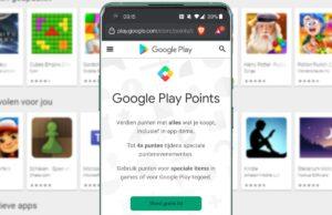google play points uitgelicht
