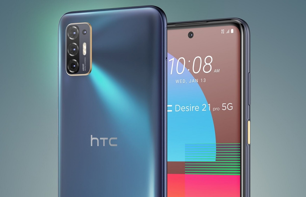 HTC geeft niet op: Desire 21 Pro 5G-smartphone officieel aangekondigd