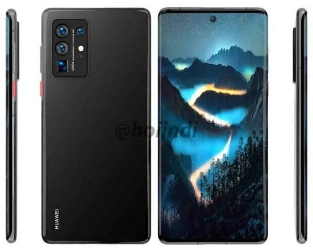 Huawei P50 Pro-render