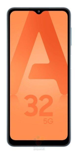 officiële renders Samsung Galaxy A32