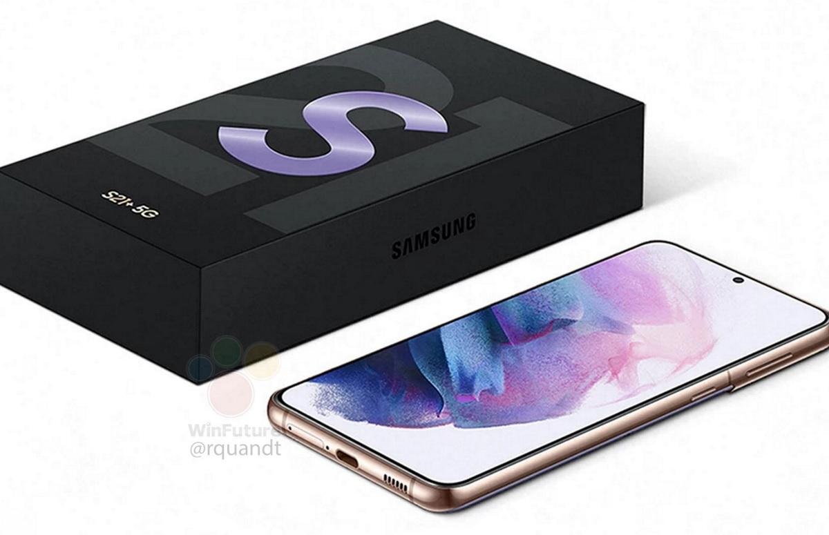'Afbeeldingen: Samsung Galaxy S21 heeft geen oplader in het doosje'