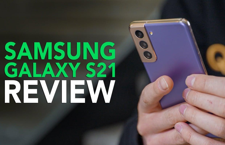 Samsung Galaxy S21 videoreview: aan de slag met het goedkopere vlaggenschip
