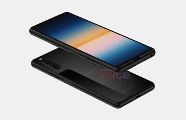Sony Xperia 10 III render
