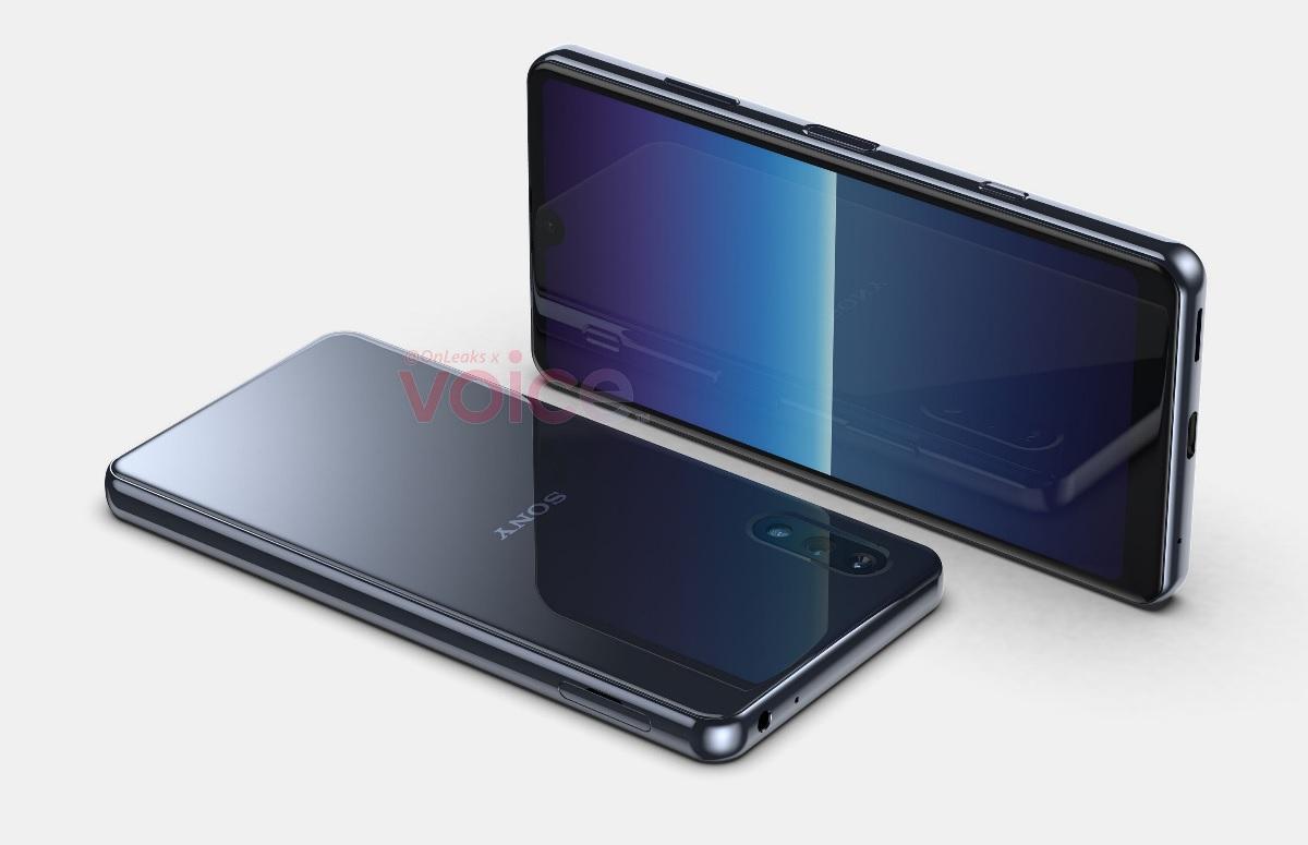 'Compacte en betaalbare Sony-telefoon te zien op renders'