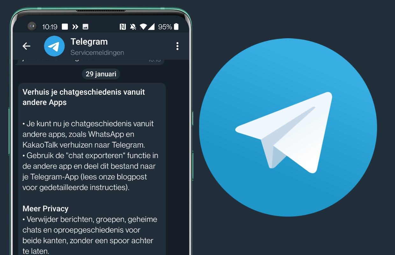 Tip: WhatsApp-gesprekken overzetten naar Telegram