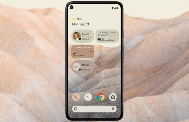 android 12 beelden