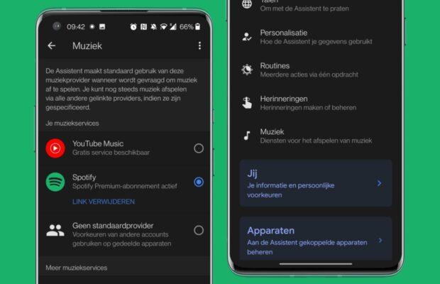android auto werkt niet google assistent instellingen