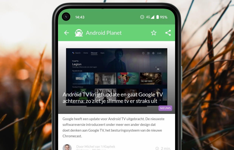 Android-nieuws #5: Android TV-update, Automotive en meer