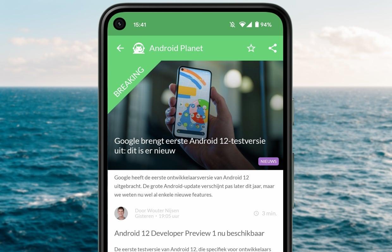 Android-nieuws #7: Android 12, Motorola Moto G30 en Samsung A52