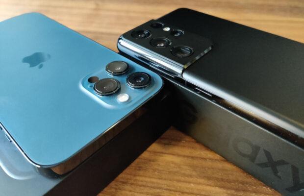 samsung s21 ultra vs iphone 12 pro camera