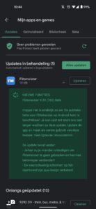 flitsmeister android auto