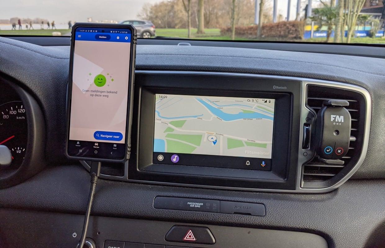 Downloaden maar: Flitsmeister brengt Android Auto-app officieel uit