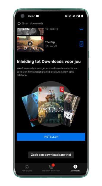 Netflix - Downloads voor jou