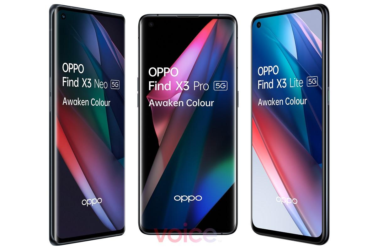 Oppo Find X3-telefoons gelekt: dit zijn de specificaties en afbeeldingen
