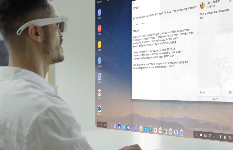 'Video toont slimme AR-bril van Samsung: Glasses Lite'