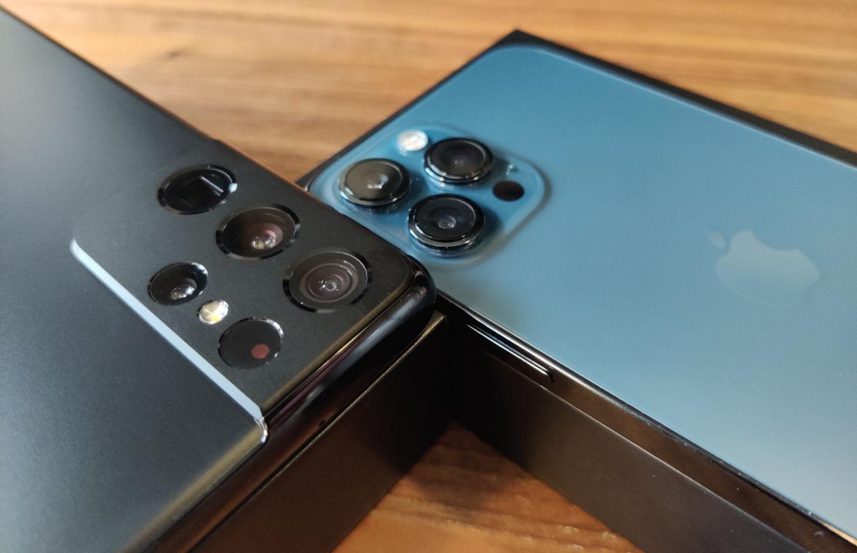 Cameravergelijking: Samsung Galaxy S21 Ultra vs iPhone 12 Pro Max