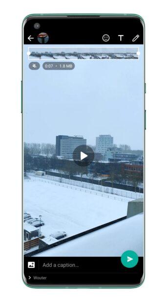 WhatsApp video zonder geluid 1