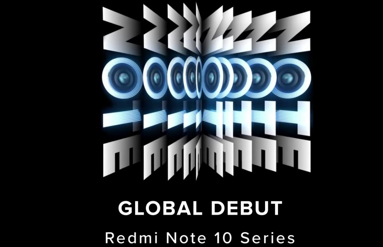 Xiaomi onthult Redmi Note 10-smartphones op 4 maart