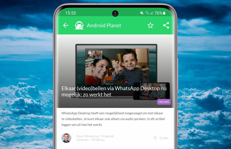Android-nieuws #9: WhatsApp Desktop, Samsung A52 en meer