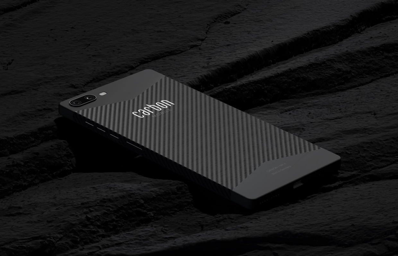 Carbon 1 MK II: 'koolstofvezel-smartphone' naar Nederland voor 799 euro