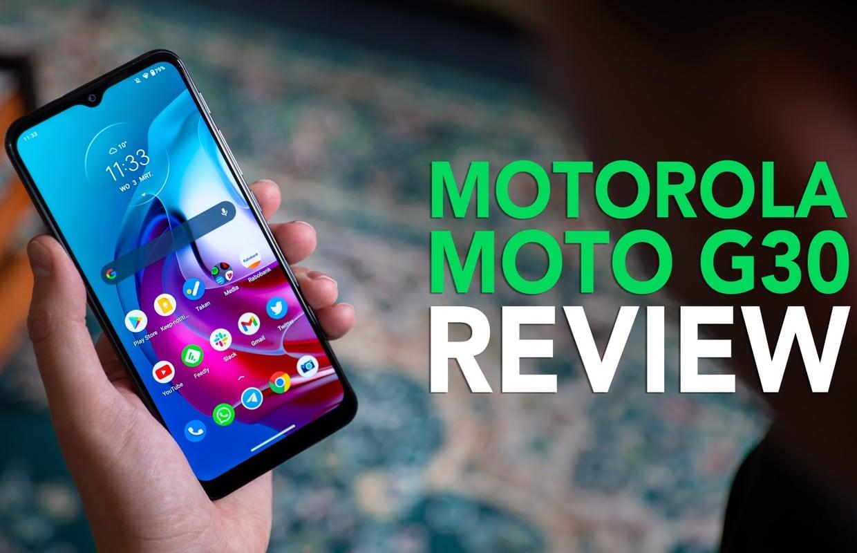 Video van de week: onze Motorola Moto G30 review