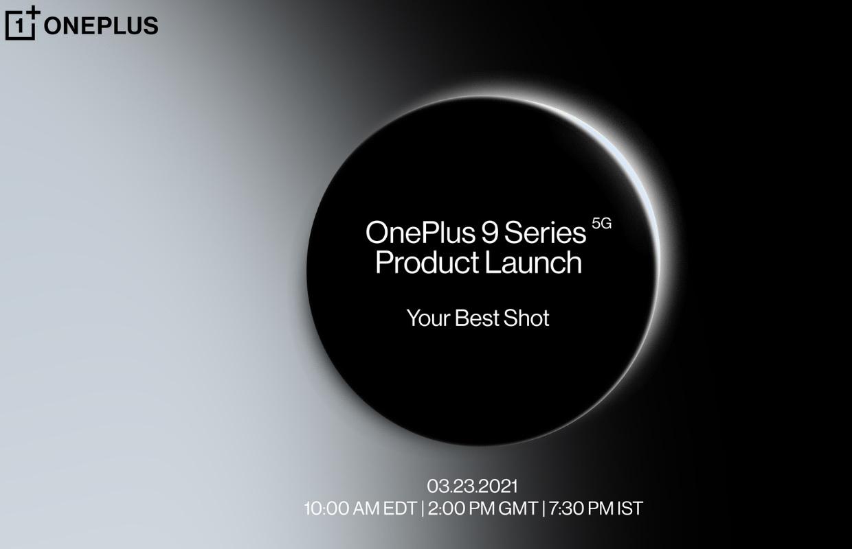 Officieel: OnePlus 9-serie wordt op 23 maart gepresenteerd