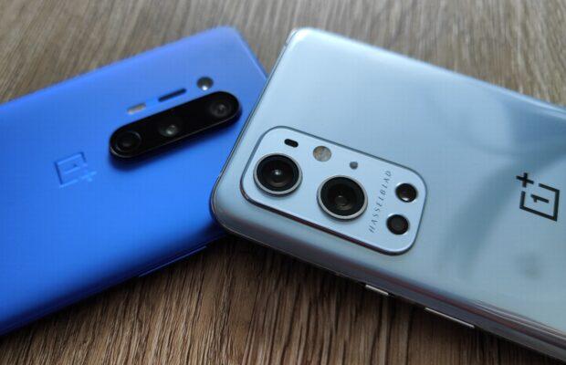 OnePlus 9 Pro vs OnePlus 8 Pro