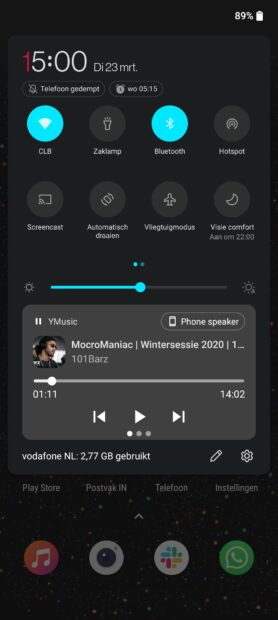 OnePlus 9 Pro - interface