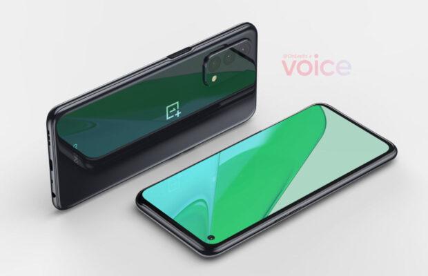 renders opvolger OnePlus Nord N10 5G