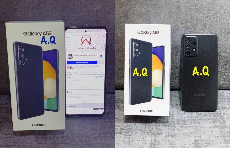 'Zo ziet de Samsung Galaxy A52 er in het echt uit'