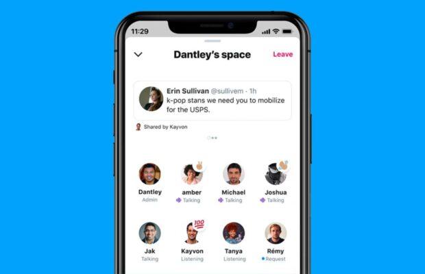 Social audio twitter spaces