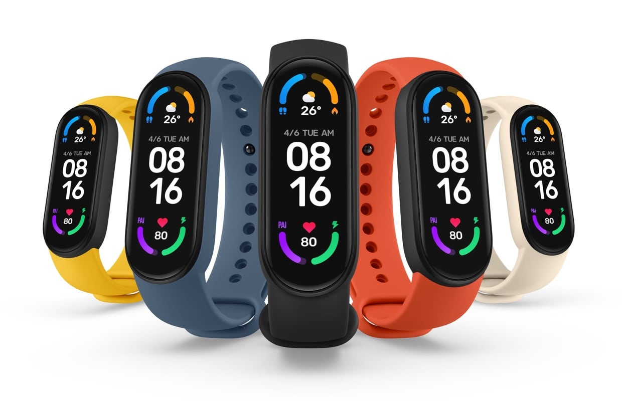 Dit is de Xiaomi Mi Smart Band 6: goedkope fitnesstracker met randloos scherm