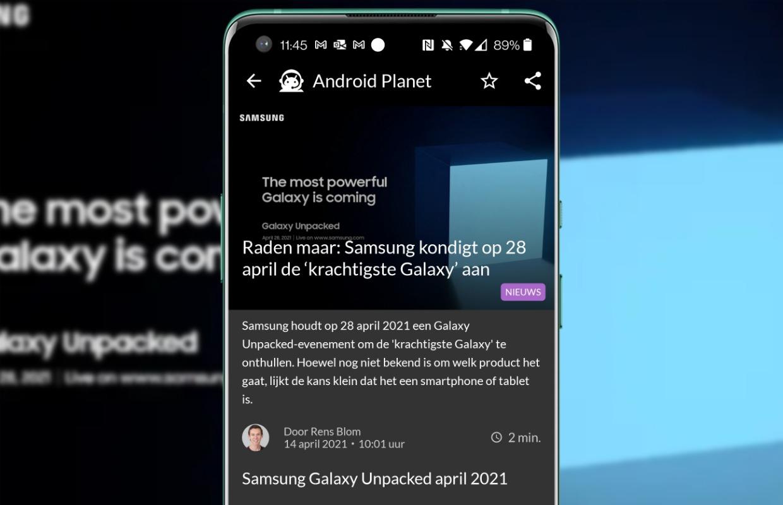 Android-nieuws #15: Samsung-event, nieuwe Sony-smartphones en Spotify in je auto