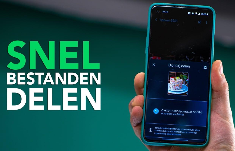 Video: Snel bestanden sturen op Android? Zo werkt Dichtbij delen!