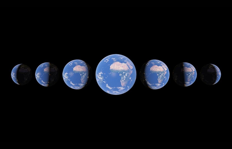 Nieuwe Timelapse-functie van Google Earth toont 3D-wereld gedurende vier decennia